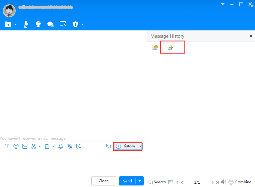 Alibaba.com Help Center - How can I export message history in