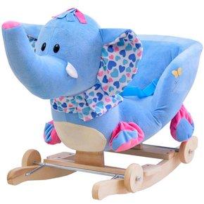 遥控摇马木马玩具充电摇椅实木摇摇车音乐两用礼物儿童