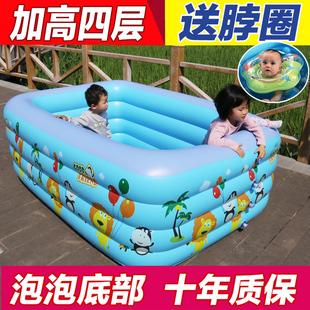 宝宝幼儿童游泳池家用充气成人家庭超大号婴儿加厚小孩2冲气1-3岁