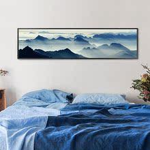 木框遮盖装饰平面框咖啡厅装饰画壁纸原木玄幻方形创意画大厅