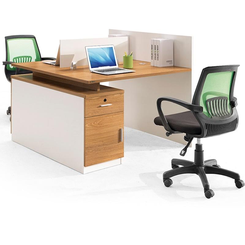 人位办公桌椅组合2人位屏风工作位卡座位办公家具员工4职员办公桌
