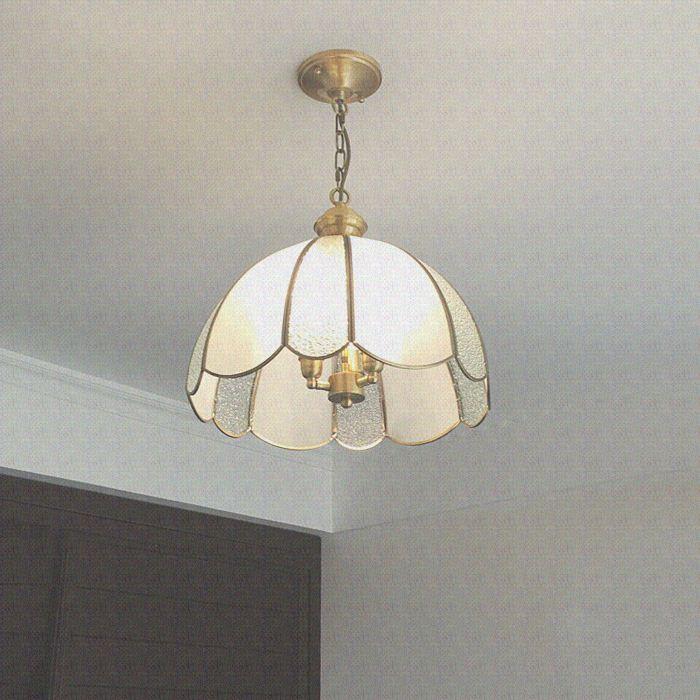 欧式餐厅灯三头全铜美式吊灯现代简约书房灯单头过道灯卧室灯