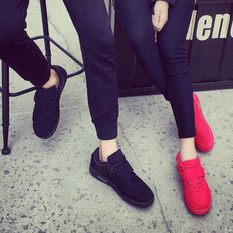 面潮流情侣鞋 红色男女款 微微一笑很倾城杨洋肖奈同款