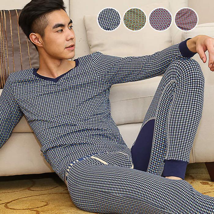 单层保暖九分裤