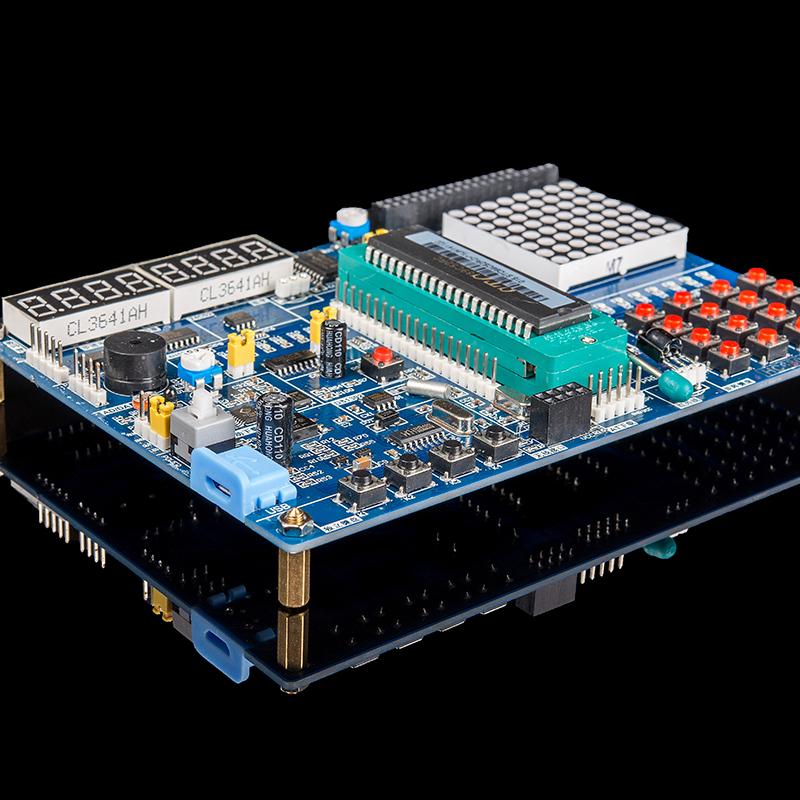 科技普中 单片机开发板 单片机学习板 实验板 stc89c52 套件51