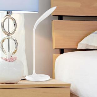 充电小台灯护眼学习学生书桌宿舍卧室床头现代简约创意个姓台风