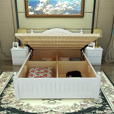 实木双人床欧式箱体床有假货吗