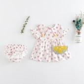 连衣裙 0到1一2岁3衣服女宝宝6女童夏装 78八十12个月9宝贝11