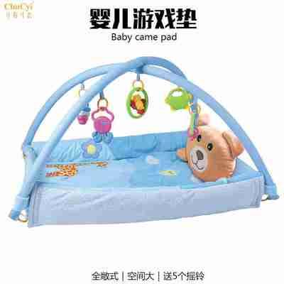 婴幼儿游戏毯 爬行垫 宝宝益智摇铃健身架 儿童母婴玩具一件