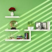 墙上置物架床头创意简易书架隔板客厅面墙壁挂卧室背景墙体装饰展
