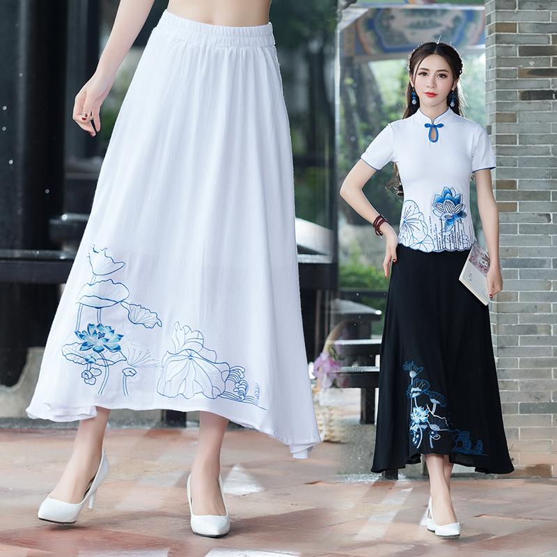 民族特色半身裙