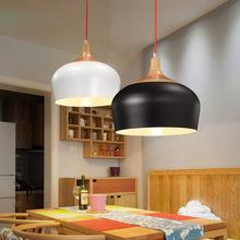 吧台小吊灯咖啡创意厅木艺餐厅个性 吊灯北欧卧室守驹残蜗执简约