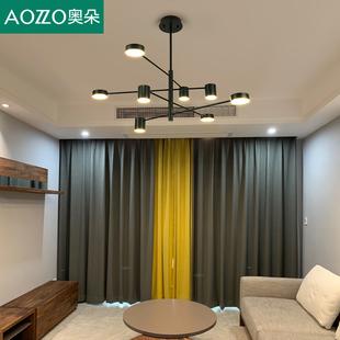 奥朵北欧灯具现代简约大气客厅吊灯创意个性餐厅卧室灯2019年新款