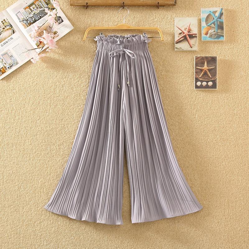花百褶裙裤