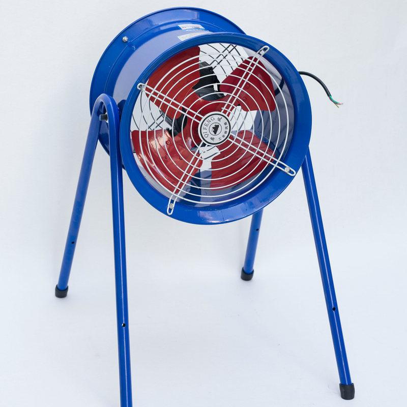 工业排风扇轴流风机管道排气扇 圆筒排烟系统强力抽风机静音风机