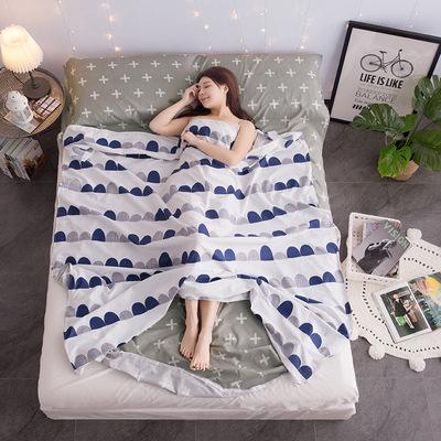 旅行外出床单隔脏睡袋纯棉便携式户外出差住酒店旅游成人超轻室内