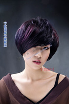 Gradient Hair salon short Hair Design photo hanging picture new high-definition waterproof poster printing 566