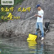 野足轻便多功能可躺折叠钓鱼椅子包靠背钓凳渔具特价全地形钓椅