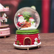 Christmas Snowflake Crystal Ball Music Box Music Box Creative Birthday Gift Boys and Girls Send Gifts Children Children