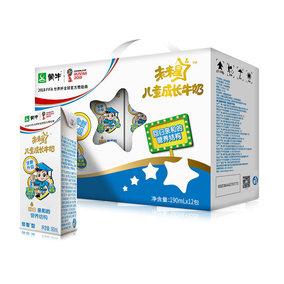蒙牛 未来星儿童成长牛奶佳智型 12盒装整箱