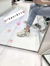 三色 包邮 刺绣小标设计复古网布运动老爹鞋 UE家潮牌19年夏季新款