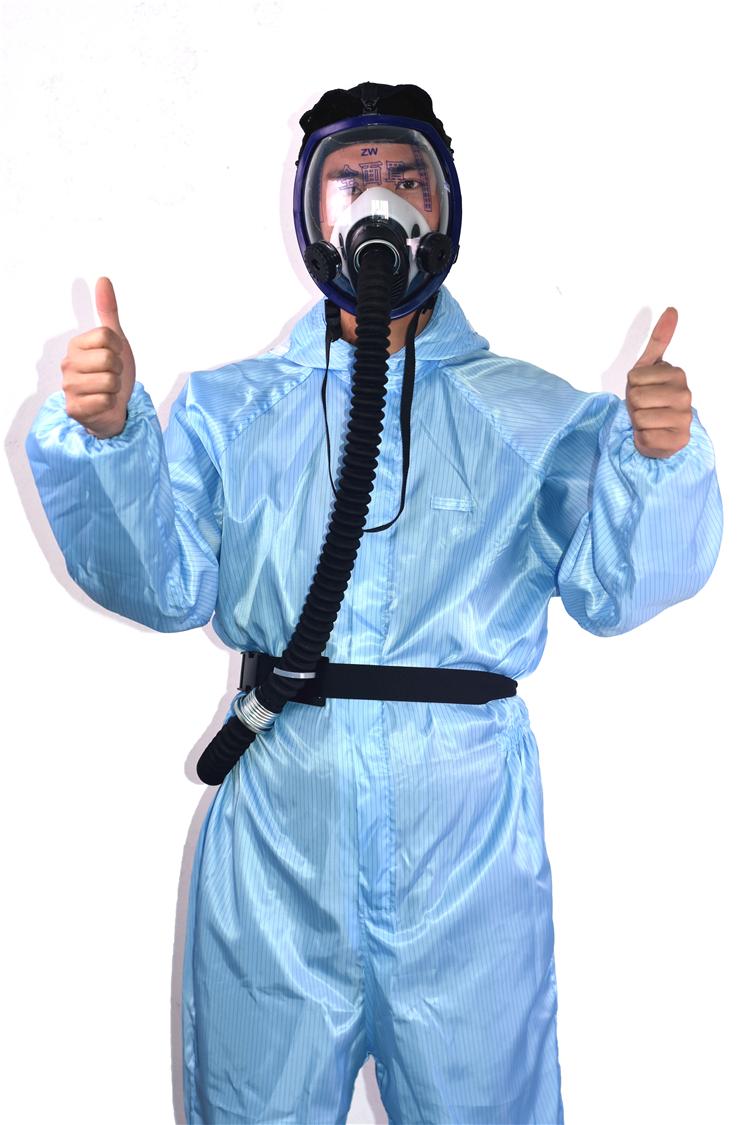 厂家直销电动送风呼吸器 防尘面罩全脸防烟防护口罩供气防毒面具