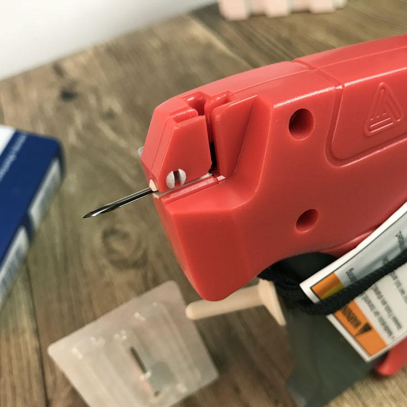 进口特细吊牌枪美国艾利10312丹尼森特细胶针枪高档耐用内衣服饰