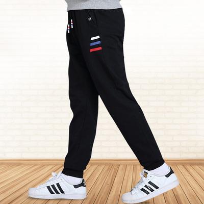 中大童男童运动裤加绒加厚儿童小脚裤保暖长裤男童冬天裤2018新款