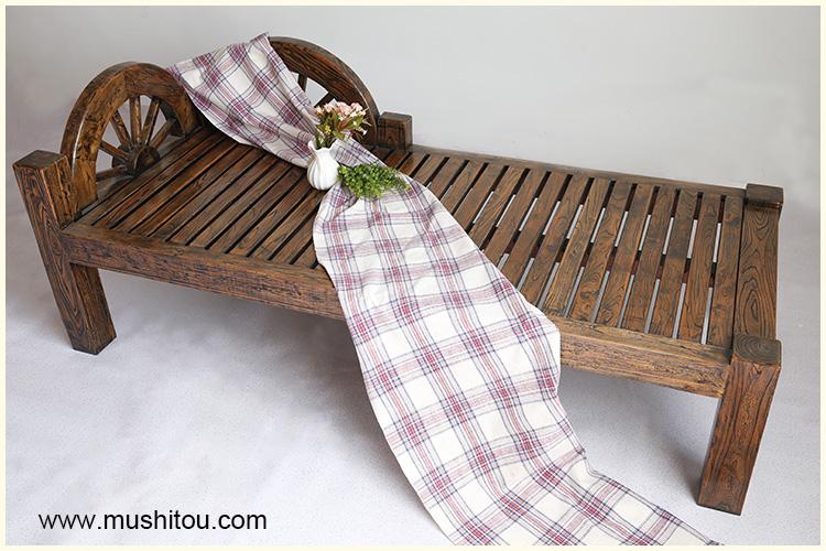 包邮老榆木贵妃椅中式贵妃榻床明清古典全实木美人榻沙发罗汉床
