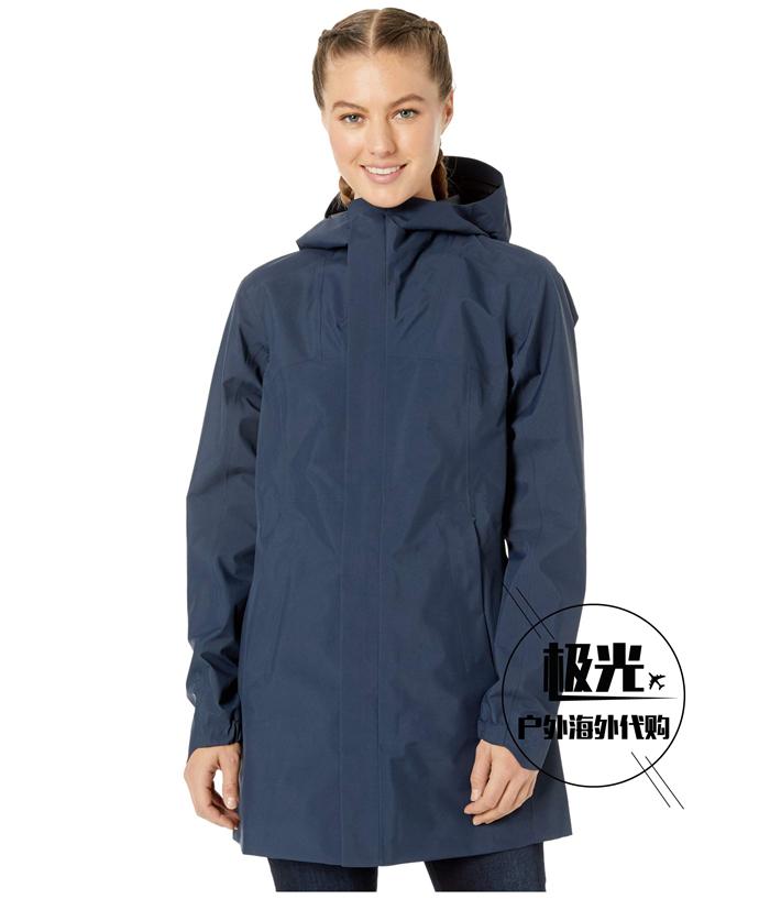 Arcteryx始祖鸟女款2020春夏防风雨长款冲锋衣Codetta Coat