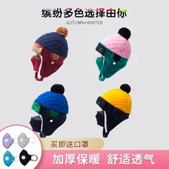 女童帽子围巾冬款