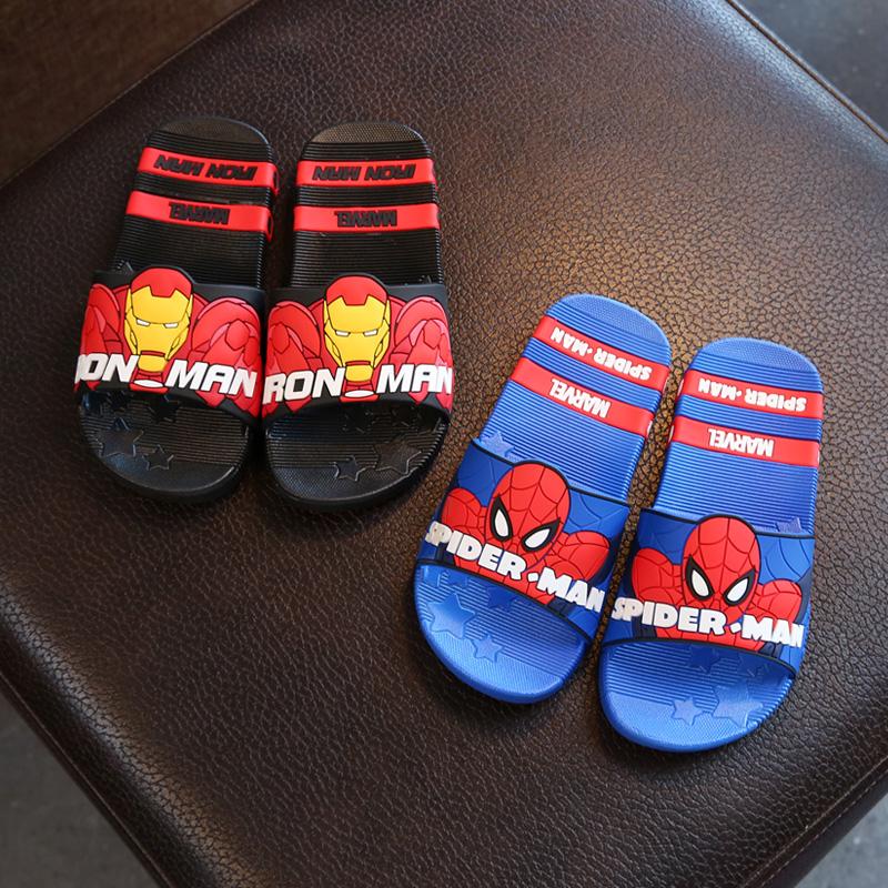 儿童拖鞋蜘蛛侠