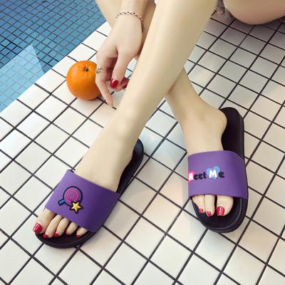 拖鞋女式夏季家用室内韩版情侣外穿厚底托鞋男洗澡防滑浴室凉拖鞋
