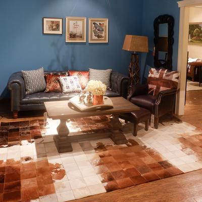 牛皮地毯牛皮毛地毯新品特惠