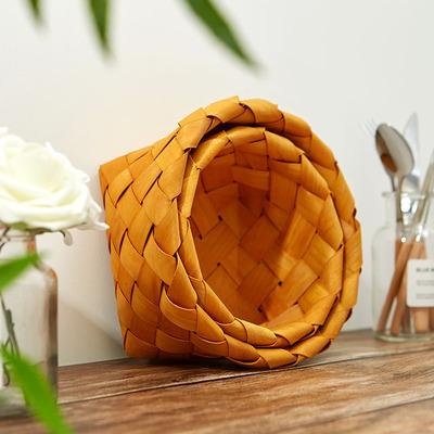 ins风装饰品面包食物食品美食摄影摆拍拍摄拍照道具篮子摆件饰品
