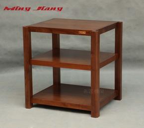 名匠 专业功放实木机架 单三层胆机器材架 音响机架 设备柜子