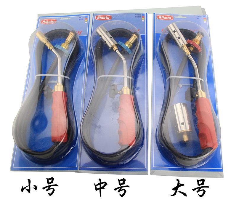 不锈钢液化气喷火器 煤气喷枪 喷炬 煤气去毛烧毛工具 补漏加热