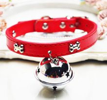 Necklace dog rope pet supplies cats with bells, stiff bands, traction ropes cute Teddy dogs, small dogs and others