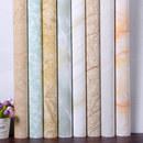 加厚家用厨房防油贴纸防水灶台橱柜浴室瓷砖旧家具翻新大理石贴纸