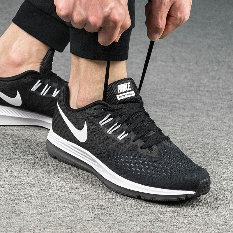 Nike耐克男鞋2018新款秋冬透气网面zoom气垫休闲运动鞋正品跑步鞋
