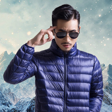 Light down jacket Men's new down jacket 2018 Men's New style Down jacket Collar Autumn and Winter jacket Increased Size Men's jacket