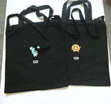 Korean BTS bullet-proof juvenile group embroidered canvas bag environmental shopping bag handbag single shoulder bag