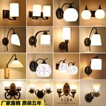 过道灯LED美式简约壁灯楼梯卧室床头灯欧式客厅墙壁餐厅走廊