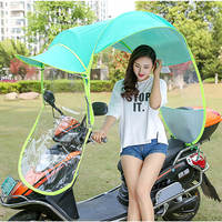Motorcycle umbrella parasol shelter rain sunscreen super thick tricycle canopy tent bracket electric car sun umbrella