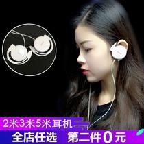 手机原装耳机线正品专用线控耳塞式NovaTL00HCAMAL10NEM华为