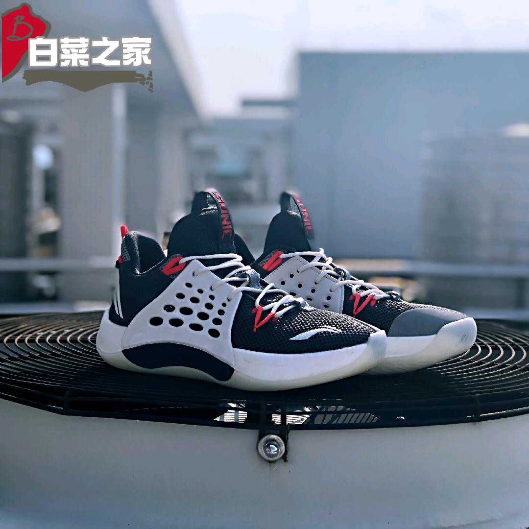 李宁2019新款篮球鞋音速7代低帮CBA同款CJ耐磨透气篮球鞋ABAP033