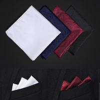 Men's formal business wedding suit pocket towel British square scarf silk scarf handkerchief chest towel suit bag towel