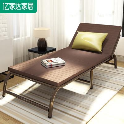 亿家达折叠床单人午休床双人行军床布艺家用床陪护床可折叠午睡床