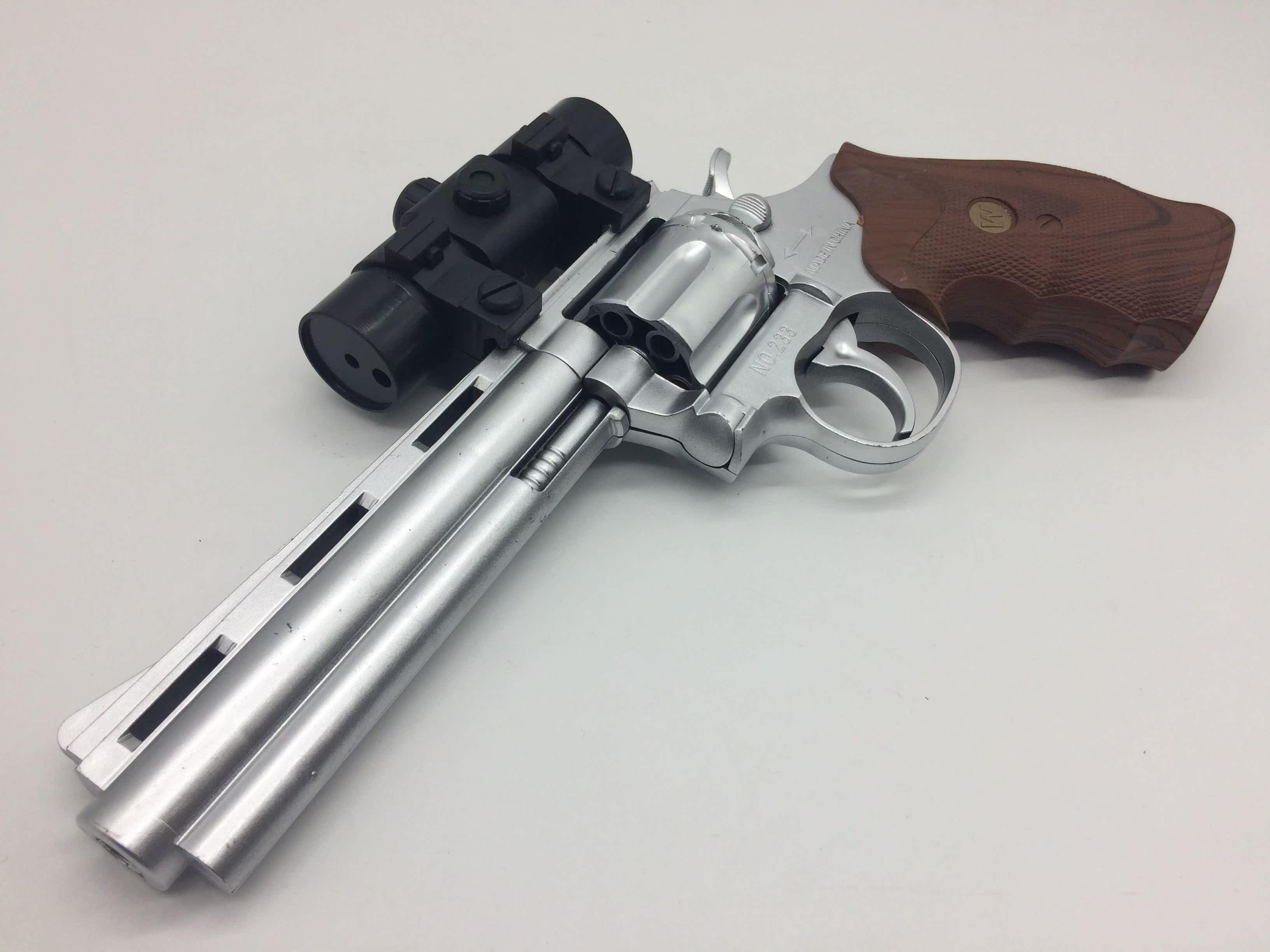 穿越 火线 蟒蛇型 左轮 柯尔特发射 玩具枪安全 环保 男孩 玩具枪