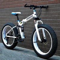 粗轮胎自行车
